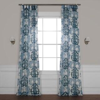 Exclusive Fabrics Damacus Printed Sheer Curtain