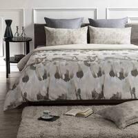 Safari Wrinkle Resistant Reversible Print 100% Organic Cotton Duvet Cover and Sham Set of 2