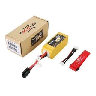 ACEHE 1500mAh 95C 14.8V 4S1P 22.2Wh High Rated Lipo Battery With XT60 Plug - Yellow - for racing series