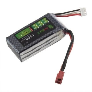 A+ Lion 11.1V 3S 1500mah 35C Lipo Battery Power for RC Helicopter 3D Airplane