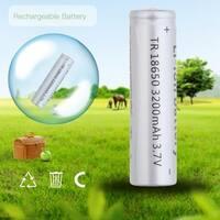 18650 3200mAh 3.7V Rechargeable Li-ion Battery for LED Flashlight