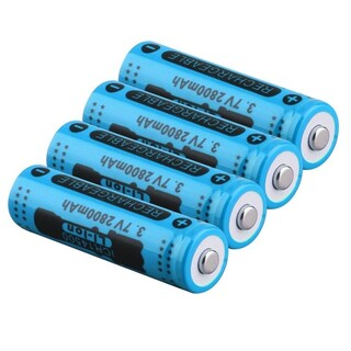 14500 3.7V 2800mAh Rechargeable Li-ion Battery for LED Torch Flashlight