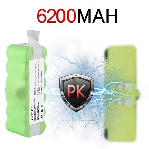 14.4V 6200mAh Battery Capacity NI-MH Battery for iRobot Roomba Vacuum Cleaner