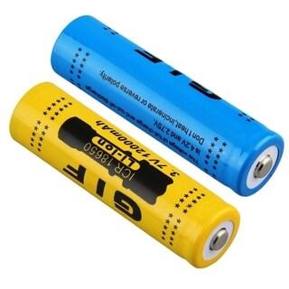 4pcs 18650 3.7V 12000mAh Rechargeable Li-ion Battery + US Plug Charger