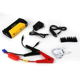68800ma Portable Emergency Start Car Jump Starter Power Bank With Three Lights