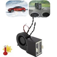 Portable Car Heating Heater 300W 500W 24V Heating Fan Auto Defroster Demister - black