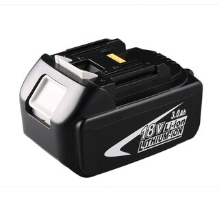 BL1830 18V Rechargeable Lithium Ion 3.0Ah Battery Replacement Power Tool - black/18v/3.0ah