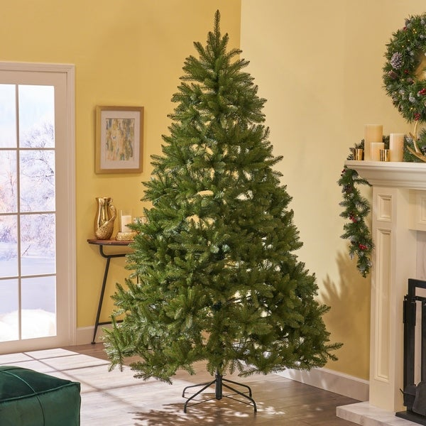 Dunhill Fir Christmas Tree.Shop Tashia Christmas Tree 7 5 By 59 Hinged Dunhill Fir By
