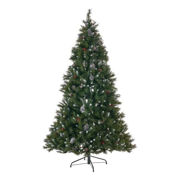 """Lead Free Christmas Trees: Shop Nazareth Christmas Tree 9' By 66"""" Pre-Lit Hinged"""