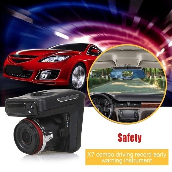 Shop 2 in 1 Night Vision Car DVR Radar Detector GPS Russian Pre