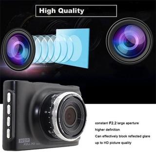 "3"" FHD 1080P Car DVR CCTV Dash Camera G-Sensor Vehicle Video Cam Recorder - Black"