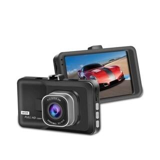 "1080P HD 3.0"" LCD Car DVR Dash Camera Video Recorder Night Vision G-sensor - Black"