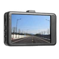 3.0 inch LCD Dash Camera Video Car DVR Recorder Full 1080P HD G-Sensor 32GB - black