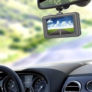 SK-Q7 3.0inch 12MP 1080P Car DVR Driving Recorder Camcorder LED Night Vision - black
