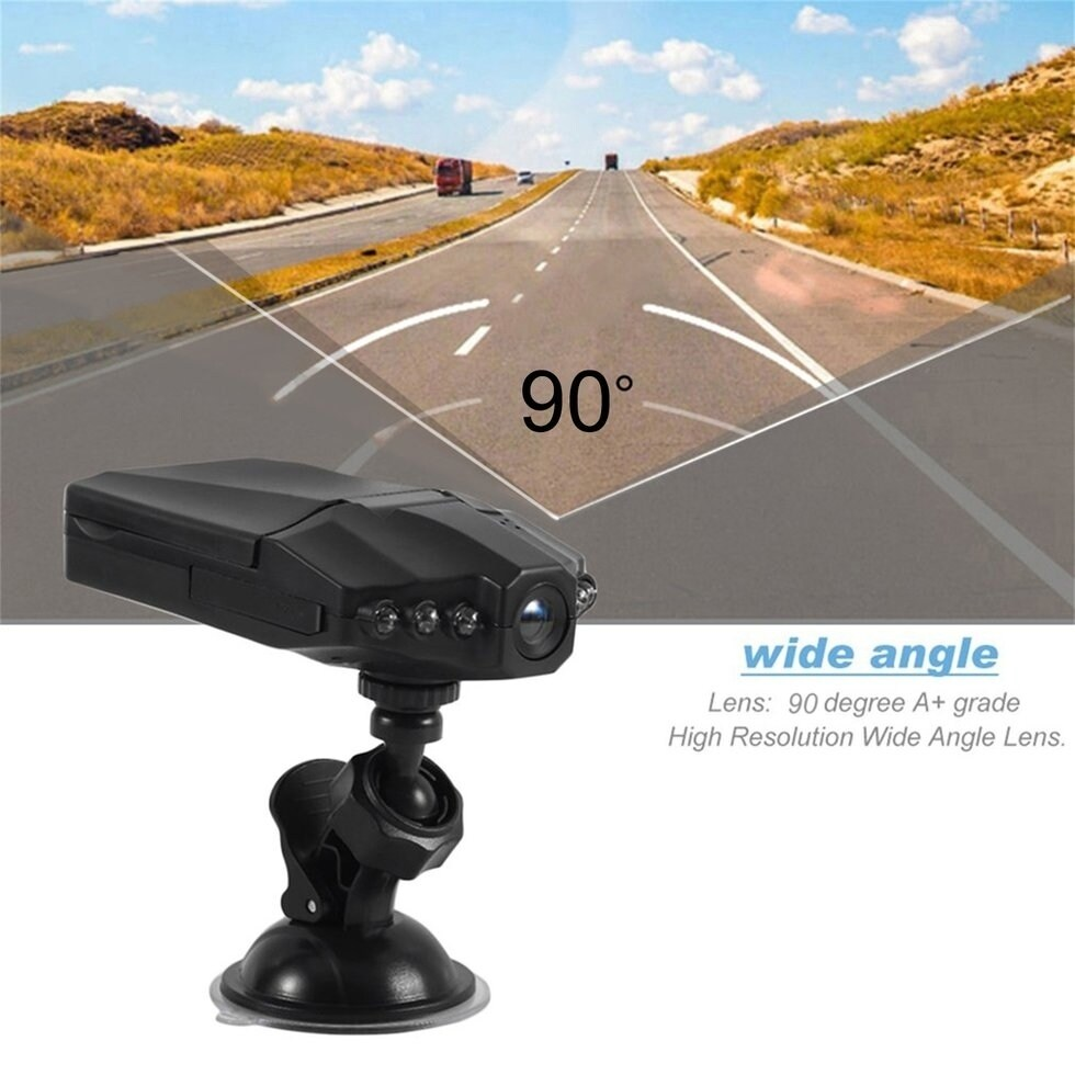 "HD 2.5/"" LCD 1080P Car DVR Vehicle Camera Video Recorder Dash Cam Night Vision"