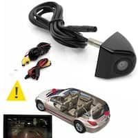 170-Degree Waterproof Night Vision CCD Car Rear View Camera For Backup Parking - black