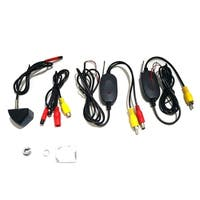 Wireless Car Rear View CCD 170° Night Camera Reverse Backup Parking Camera - black