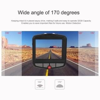 LCD Car DVR Recorder Vehicle Traveling Data Recorder G-Sensor Camera