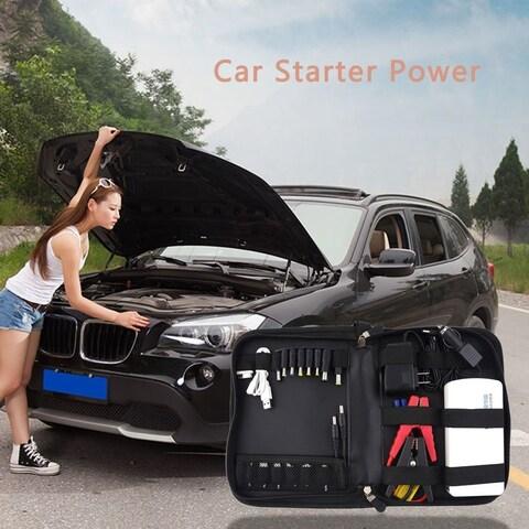 12000mAh Multi-Function Car Jump Starter Battery Charger Power Bank