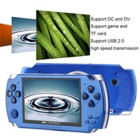 4.3 Inch 480*272 High Speed TFT Display Hand-held Video Game Console Player - BLue