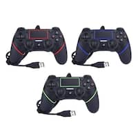 PS4 Joystick Gamepad Controller Vibration USB Wired Game Console