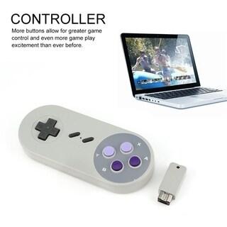 Wireless Controller for SNES 8bitdo Dual Classic Joystick - gray
