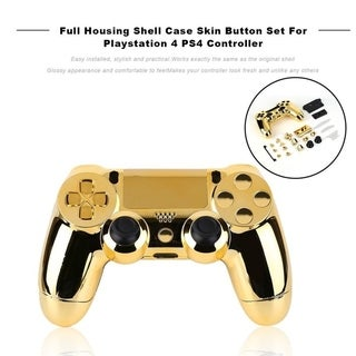 Full Housing Shell Case Skin Button Set For Playstation 4 PS4 Controller