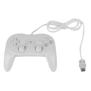 Classic Wired Game Controller Remote Pro Gamepad Shock For Nintendo Wii