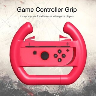 Controller Direction Manipulate Wheels For Nintendo Switch Joy-con - Red & Blue