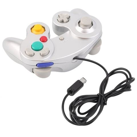 Plastic Sensitive Wired Game Controller For Nintendo GameCube