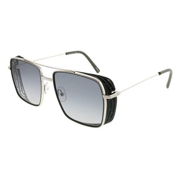 OXYDO Aviator OXYDO 1.3 TBO 9O Women Military Green Frame Dark Grey  Gradient Lens Sunglasses 50324f0855