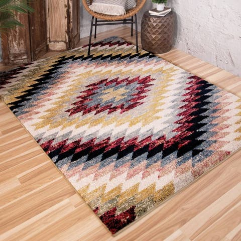 Orian Rugs Grand Tapis South-By-West Multi