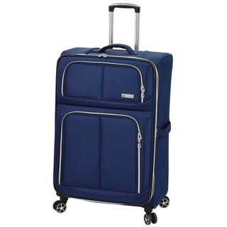 London Fog Northwood 28-inch Expandable 8-Wheel Spinner Suitcase