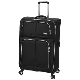London Fog Northwood 32-inch Expandable 8-Wheel Spinner Suitcase