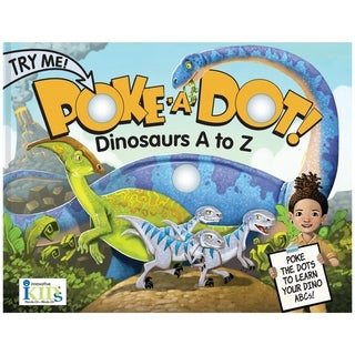 Poke-A-Dot Dinosaurs A to Z Alphabet Learning Book