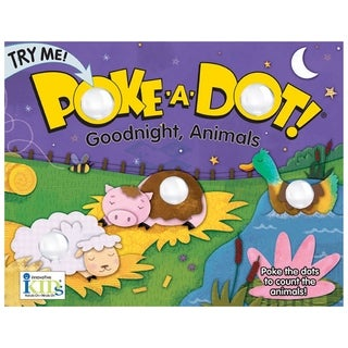 Poke-A-Dot Goodnight Animals Counting Book