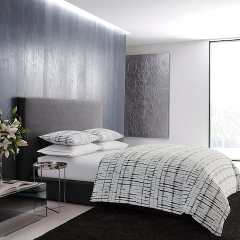 Vera Wang Shibori Grid Comforter Set