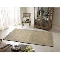 """Rachael Ray Highline HGH01-27 Taupe Wool Rug by Kaleen - 9'6"""" x 13'"""