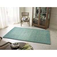 "Rachael Ray Highline HGH01-34 Glacier Wool Rug by Kaleen - 9'6"" x 13'"