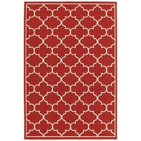 """Rectangle Rug/ Meridian 8 Ft. 6 In. X 13 Ft. 0 In./ Outdoor/ Geometric - 8' 6"""" x 13' 0"""""""