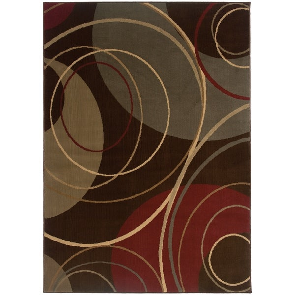 """Rectangle Rug/ Amelia 5 Ft. 0 In. X 7 Ft. 6 In./ Contemporary/ Abstract - 5' x 7'6"""""""