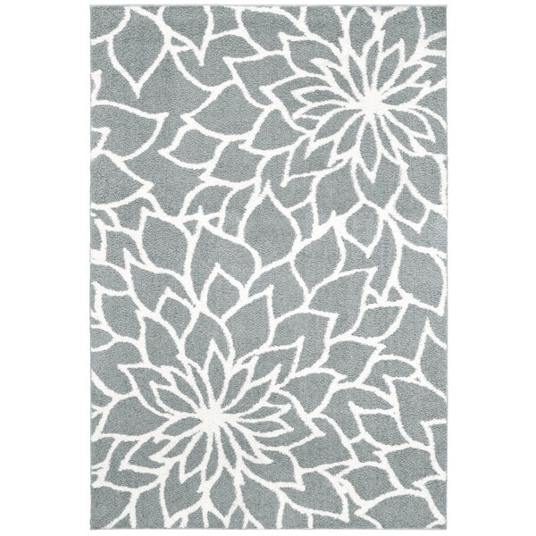 """Rectangle Rug/ Verona 5 Ft. 3 In. X 7 Ft. 6 In./ Casual/ Floral - 5'3"""" x 7'6"""""""