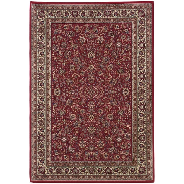 "Rectangle Rug/ Ariana 6 Ft. 7 In. X 9 Ft. 6 In./ Traditional/ Oriental - 6'7"" x 9'6"""