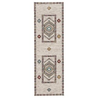 The Curated Nomad Don Chee Tribal Indoor/ Outdoor Runner Rug