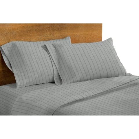 Dormisette Luxury German Flannel Ultra-Soft 6-Ounce Hemstitch Sheet Set