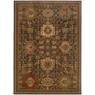 "Rectangle Rug/ Casablanca 5 Ft. 3 In. X  7 Ft. 6 In./ Traditional/ Oriental - 5'3"" x 7'6"""