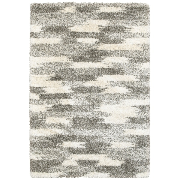 "Rectangle Rug/ Henderson 7 Ft.10 In. X 10 Ft.10 In./ Shag/ Geometric - 7'10"" x 10'10"""