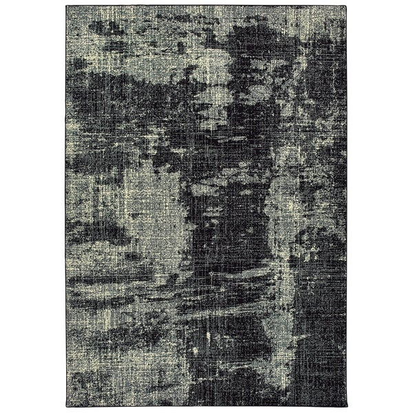 """Rectangle Rug/ Luna 7 Ft.10 In. X 10 Ft.10 In./ Contemporary/ Abstract - 7'10"""" x 10'10"""""""