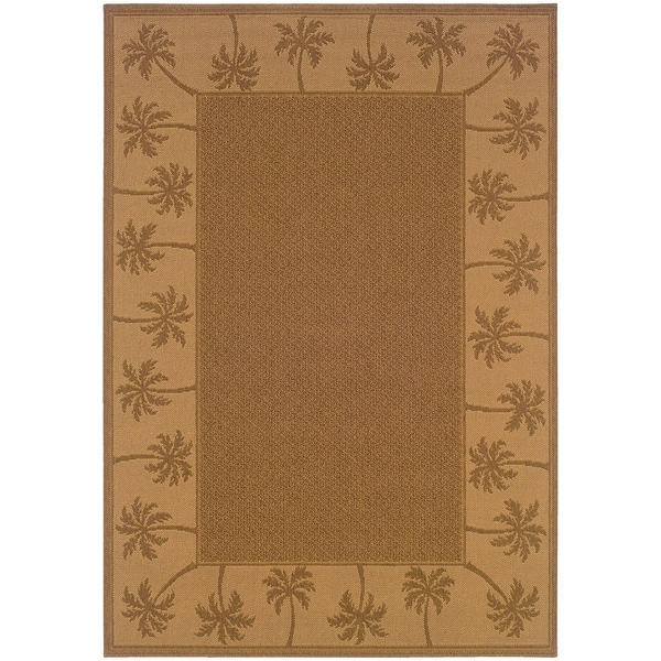 """Rectangle Rug/ Lanai 1 Ft. 8 In. X 3 Ft. 7 In./ Outdoor/ Border - 1' 8"""" x 3' 7"""""""