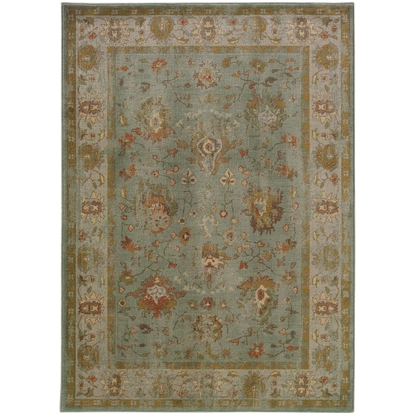 """Rectangle Rug/ Casablanca 5 Ft. 3 In. X 7 Ft. 6 In./ Traditional/ Oriental - 5'3"""" x 7'6"""""""